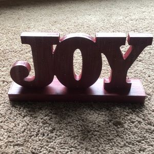 Like new hallmarks light up JOY sign